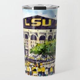 LSU Game Day Travel Mug