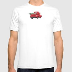 The Road Home Mens Fitted Tee White SMALL