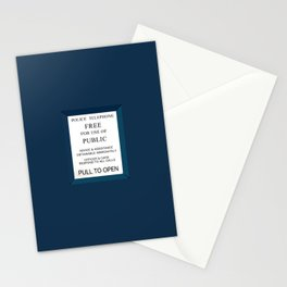 Doctor Who (Tardis Door) Police Box Stationery Cards