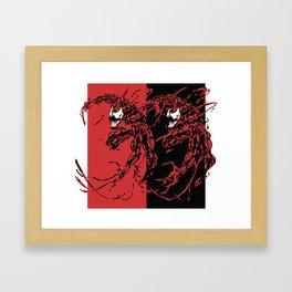 Carnage Framed Art Print