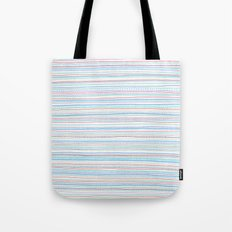 Pattern With Orange Dots Tote Bag