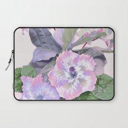 Tropical Botanical Lilac Laptop Sleeve