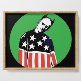 Keith Prodigy Black and Green *All proceeds donated to charity* Serving Tray