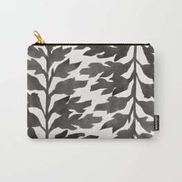 Black Fern Carry-All Pouch