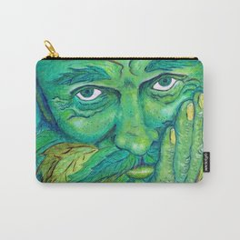 The Greenman by Mary Bottom Carry-All Pouch