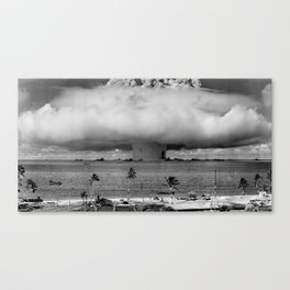 Nuclear Explosion Canvas Print
