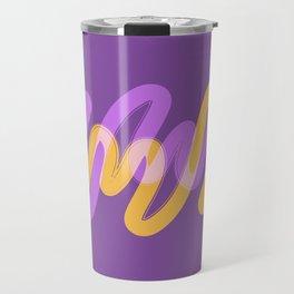 VibrantBrush8 Travel Mug