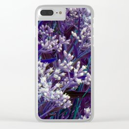 Bunches of Tiny Flowers Clear iPhone Case