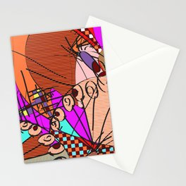 Colorful Shapes 2 Stationery Cards