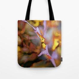 On a Leaf Edge Tote Bag