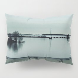 """Lake Erie waterways"" photography by Willowcatdesigns Pillow Sham"