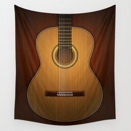 Classic Guitar Wall Tapestry