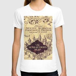 bown map T-shirt