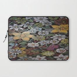 Flowers - Pattern Design - - Wild Veda Laptop Sleeve