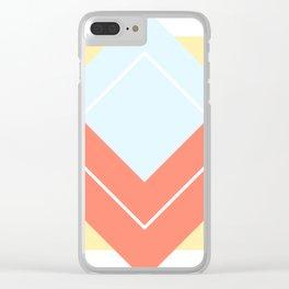 Diamond Yellow Clear iPhone Case