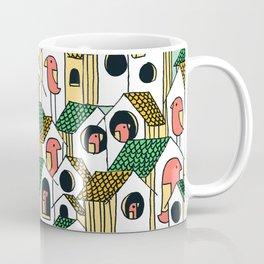 Bird houses Coffee Mug