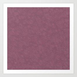 Cannon Pink Falcon Art Print