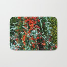barberry in the winter Bath Mat