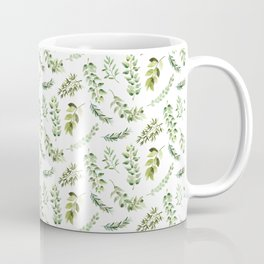 Forest in the Fall Pattern Coffee Mug