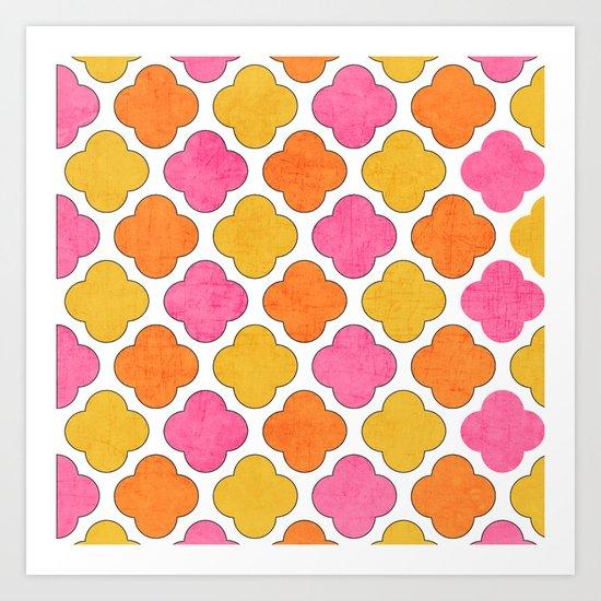summer clover Art Print