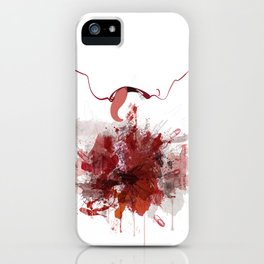 Enjambre iPhone Case
