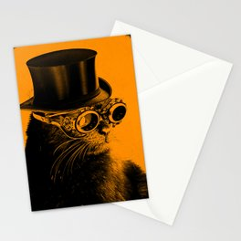Steampunk Mojo in a top Hat Stationery Cards
