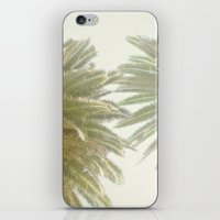 palm trees iPhone & iPod Skins featuring Palm Trees by The ShutterbugEye