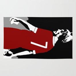 Liverpool FC Legendary No.7 Kenny Dalglish  Rug