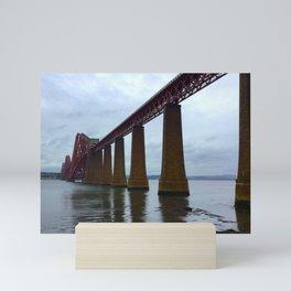 The Forth Bridge, Scotland Mini Art Print