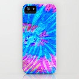 Tie Dye 026 iPhone Case