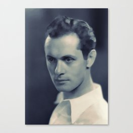 Robert Montgomery, Hollywood Legend Canvas Print