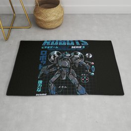 Video Game Robot - Model S Rug
