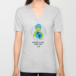 10th Anniversary - Keeping It Cool Unisex V-Neck