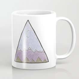Moon Mountains Coffee Mug