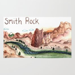 Smith Rock, Oregon Rug