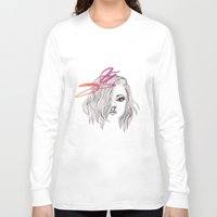 bow Long Sleeve T-shirts featuring Bow by spllinter