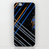 grid iPhone & iPod Skins featuring Grid by Last Call