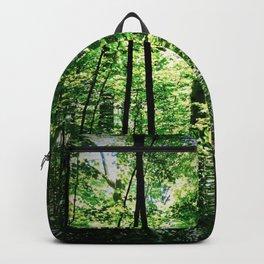 Sun Ray Through Trees Backpack