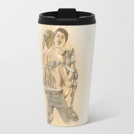Do androids dream of electric bees? Travel Mug