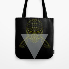 polygon head Tote Bag
