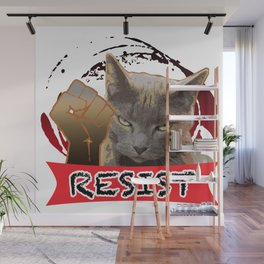 Earl for the Resist Wall Mural
