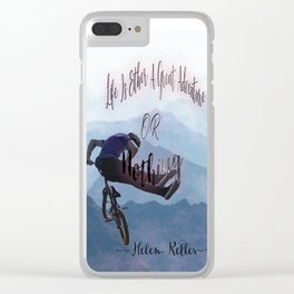 Life Is A Great Adventure Clear iPhone Case