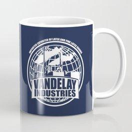 Vandelay Industries # 2- Blue Coffee Mug