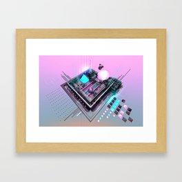 Ketamine & Ice Cream  Framed Art Print