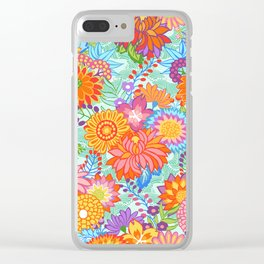 Jubilee Blooms Clear iPhone Case