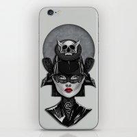 samurai iPhone & iPod Skins featuring Samurai by Giulio Rossi