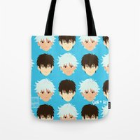 johannathemad Tote Bags featuring ginhiji by JohannaTheMad