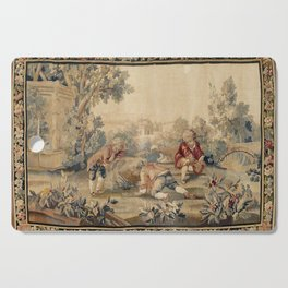 Aubusson  Antique French Tapestry Print Cutting Board