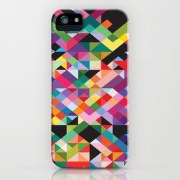 Geometric Kaos iPhone Case