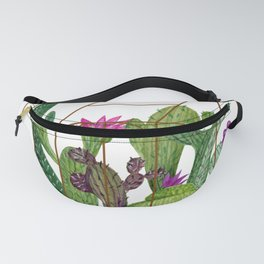 Cactus watercolor illustration Fanny Pack